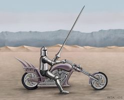 Chopper Warrior by Astalo