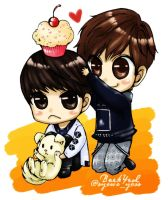 EXO 03 Baekyeol 2012 by syewe-yoss