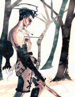 The End. Ashley Riot. Vagrant Story by Sempah
