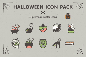 Halloween Icon Pack by sandracz