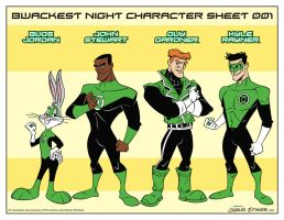 Looney Lanterns the web comic line up 001 by CharlesEttinger