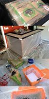 Concrete Counter Bar by davidz1205