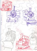 TTTE Summer Sketches by Duchess-of-Eyebrows