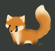 Fox Chibi Doodle by Sablewest