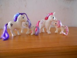 my little pony collection: mother and babies by theladyinred002