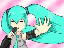 hatsune miku by 13brainless13