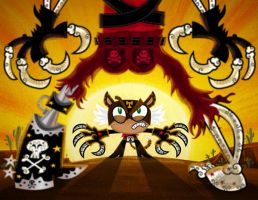 El Tigre vs Son of Sartana by mexopolis