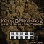 Rock Brushes 2 by AscendedArts