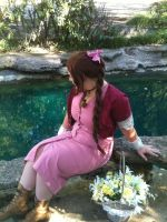AERITH GAINSBOROUGH by LyndseySan