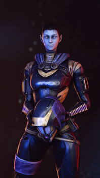 New Year, New Tali (Version 2 Alternate) by Spartanburger
