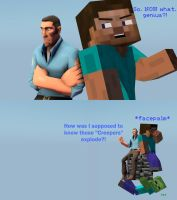 The Adventures of Steve and Sniper: Skyblock by Dafuqer7