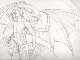 Mirin - Unwanted Wings WIP by AngelaSasser