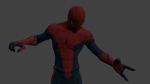 Spider-man model edit thingy v3 TRYING TO RIG NOW! by Superman999