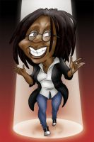 Whoopi Goldberg - Caricature by JigokuHana