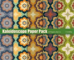 Kaleidoscope Paper Pack -  Set 1 by naga-pree