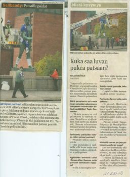 Article from Aamulehti by Toumei