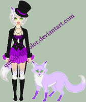 a: mouldyCat Custom Fox Spirit by Queen-of-Color