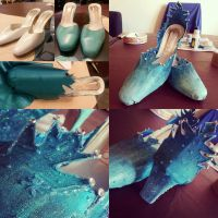 Elsa from Arendelle - Shoes by MagicYuu
