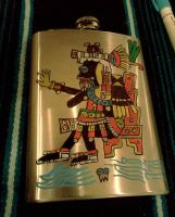 Tlaloc Flask by Kamazotz