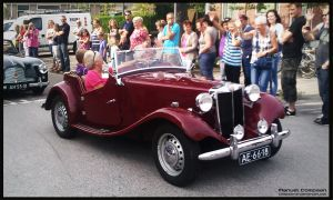 1950 MG TD Roadster by compaan-art