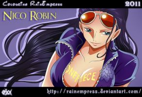 Nico Robin We Go by RainEmpress