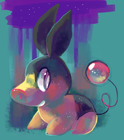 Tepig by sweating