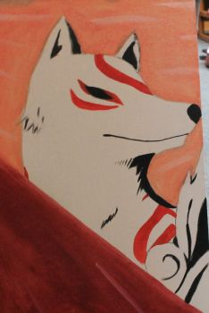 Childhood:  Amaterasu by Raspberrythebat55