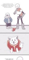 .Undertale: Fancomic - Extras 2.+ by Kintanga