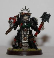 Deathwing Chaplain by Rebel-lion