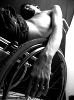 Wheelchair 001 by FlixFlexFlox