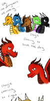 Wings of Fire- The Dragonets Are Coming ... by Minish-Mae