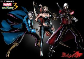 Devil May Cry UMvC3 by matt123chez