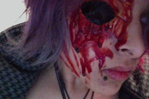 Bloody and ugly...but most of all, Eyeless by H-o-s-t
