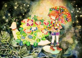 in the twinkling rain by aoi1015