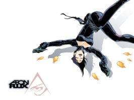 Aeon Flux by scruffyronin