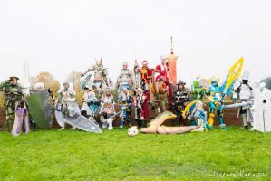 Gruppo Monster Hunter by CryChan87