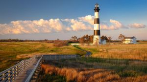 Sunrise at the Bodie Island Lighthouse by JJonesJr69