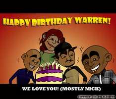 Happy Birthday Warren! by Dylanio21