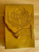 Handmade Leather Book - Tiger by alylovesu2