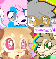 Icon bananza by ToxiicClaws
