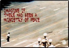 Imagine if.... Tiananmen sq. by Hoegdall