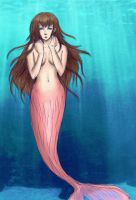 Art Trade Mermaid by lady-leliel