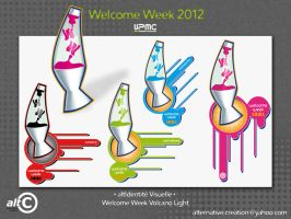 Welcome Week Logo by ANOZER