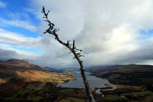 The point of Loch Tay by karliosi