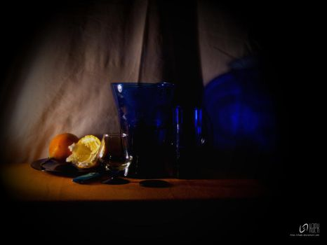 Blue Glass by HaPK
