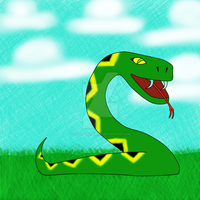 Snake Dragon - phase 1 the snake by Sir-William-Drake