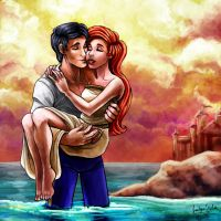 CC: Ariel and Eric by MistyTang