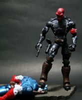 Custom Marvel Legends Red Skull 3 by lrcustoms