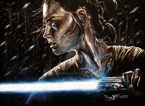 Rey drawing by onchonch