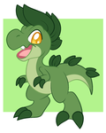 DD50: (Fakemon) Rexling by LadySiggy